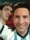 Eu e Lionel - Amsterdã