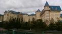 O lindíssimo hotel logo na entrada!