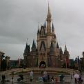 O castelo num dia de tempo ruim!