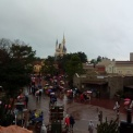 Vista da Splash Mountain.