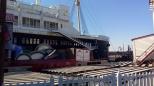 Outra foto do navio que tem dentro do parque.