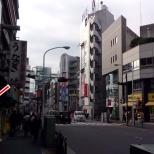 Rua movimentada em Tóquio, com máquina. (Tóquio)